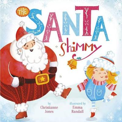 Santa Shimmy (Board book)