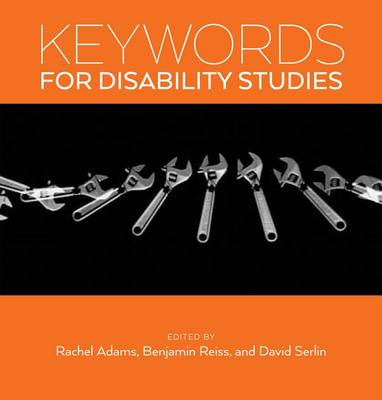 Keywords for Disability Studies - Keywords (Hardback)
