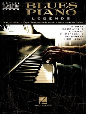 Artist Transcriptions: Blues Piano Legends (Paperback)