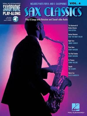 Saxophone Play-Along Volume 4: Sax Classics (Book/CD) (Paperback)
