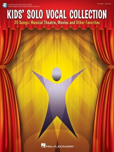 Kids' Solo Vocal Collection (Book/CD) (Paperback)