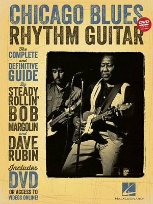 Chicago Blues Rhythm Guitar: The Complete Definitive Guide (Book/DVD) (Paperback)