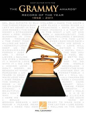 The Grammy Awards Record of the Year 1958-2011: Easy Guitar with Tab (Paperback)
