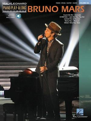 Piano Play-Along Volume 126: Bruno Mars (Paperback)