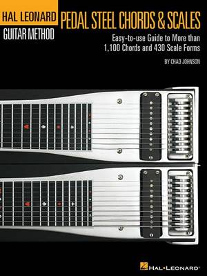 Pedal Steel Guitar Chords & Scales (Paperback)