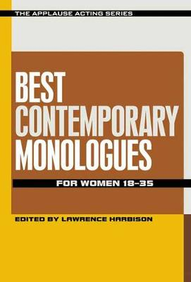 Best Contemporary Monologues for Women 18-35 (Paperback)