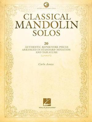 Classical Mandolin Solos (Book/Online Audio) (Paperback)