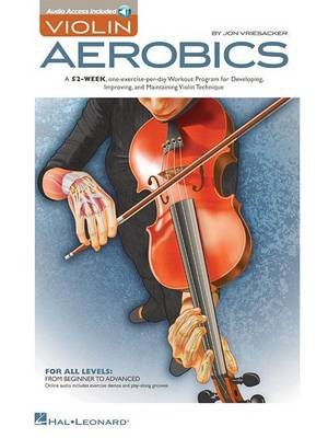 Jon Vriesacker: Violin Aerobics (Paperback)