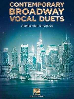 Contemporary Broadway Vocal Duets (Paperback)