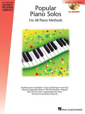 Hal Leonard Student Piano Library: Popular Piano Solos 2nd Edition Level 5 (Book/CD) (Paperback)