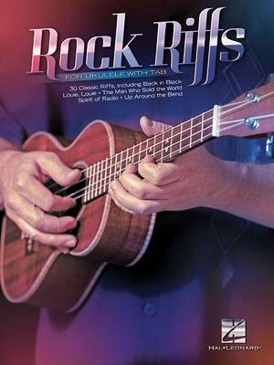 Rock Riffs For Ukulele With Tab (Paperback)