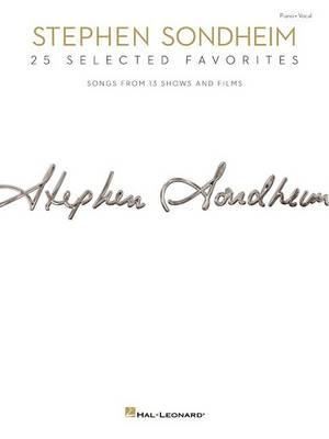 Stephen Sondheim: 25 Selected Favorites (Paperback)