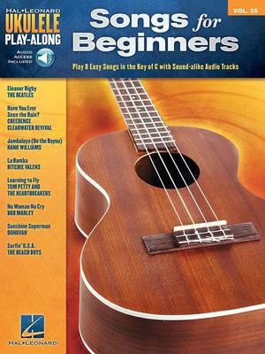Ukulele Play-Along Volume 35: Songs For Beginners (Book/Online Audio) (Paperback)