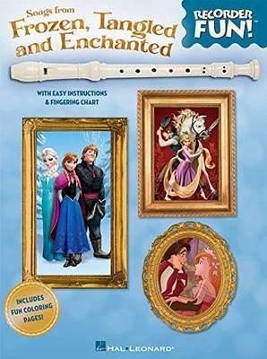 Songs from Frozen, Tangled and Enchanted - Recorder Fun! (Paperback)