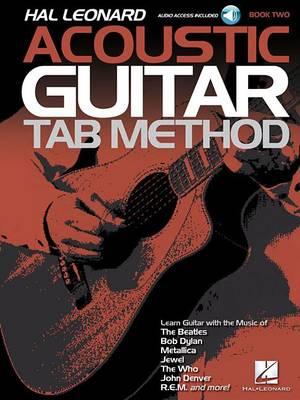 Hal Leonard Acoustic Guitar Tab Method - Book 2 (Book/Online Audio) (Paperback)