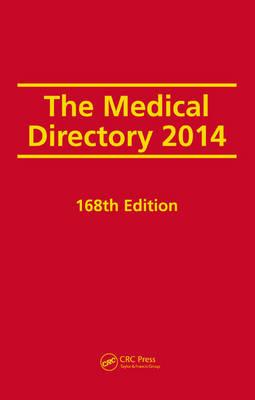 The Medical Directory 2014, 168th Edition (Hardback)