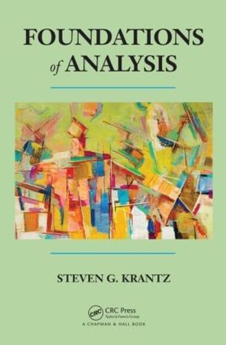 Foundations of Analysis (Hardback)