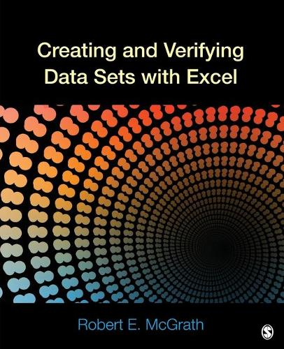 Creating and Verifying Data Sets with Excel (Paperback)