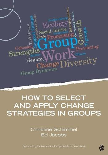 How to Select and Apply Change Strategies in Groups - Group Work Practice Kit (Paperback)