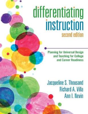 Differentiating Instruction: Planning for Universal Design and Teaching for College and Career Readiness (Paperback)