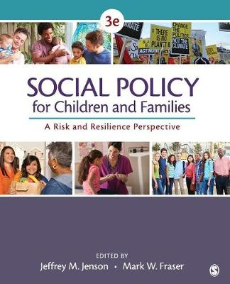 Social Policy for Children and Families: A Risk and Resilience Perspective (Paperback)