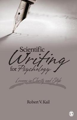 Scientific Writing for Psychology: Lessons in Clarity and Style (Paperback)