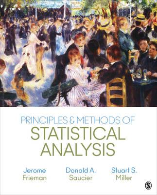 Principles & Methods of Statistical Analysis (Hardback)