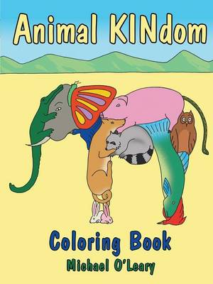 The Animal Kindom Coloring Book (Paperback)