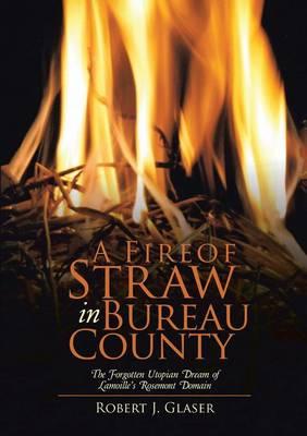 A Fire of Straw in Bureau County: The Forgotten Utopian Dream of Lamoille's Rosemont Domain (Paperback)