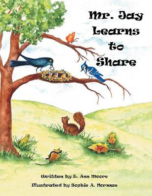 Mr. Jay Learns to Share (Paperback)