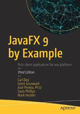 JavaFX 9 by Example (Paperback)