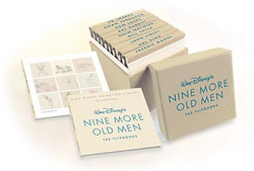 Walt Disney Animation Studios The Archive Series Walt Disney's Nine More Old Men: The Flipbooks (Hardback)