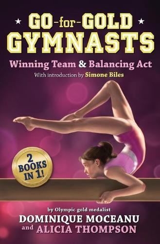 Go-for-gold Gymnasts Bind-up: #1: Winning Team + #2: Balancing Act (Paperback)