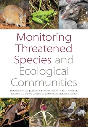 Monitoring Threatened Species and Ecological Communities (Paperback)