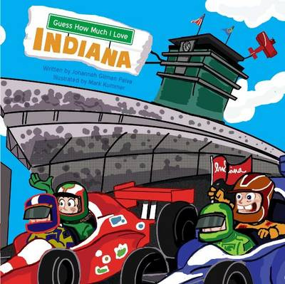 Guess How Much I Love Indiana (Board book)