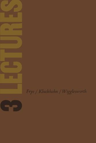 Three Lectures: University of Toronto Installation Lectures, 1958 (Paperback)
