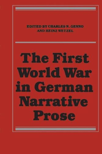 The First World War in German Narrative Prose (Paperback)