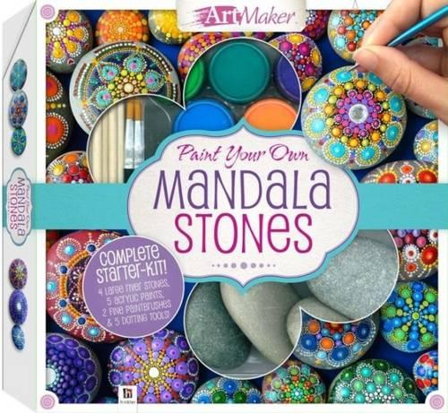 Paint Your Own Mandala Stones Kit (Book)