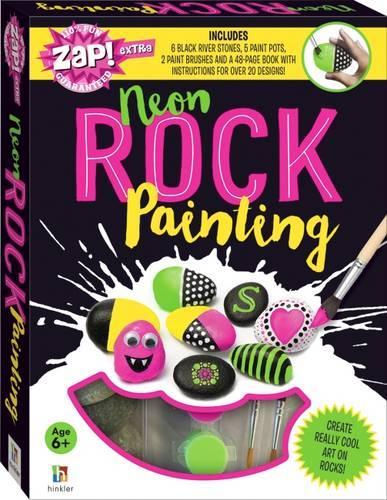 Zap! Extra Neon Rock Painting - Zap! Extra (Book)
