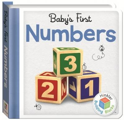 Building Blocks Numbers Baby's First Padded Board Book S2 - Building Blocks (Book)