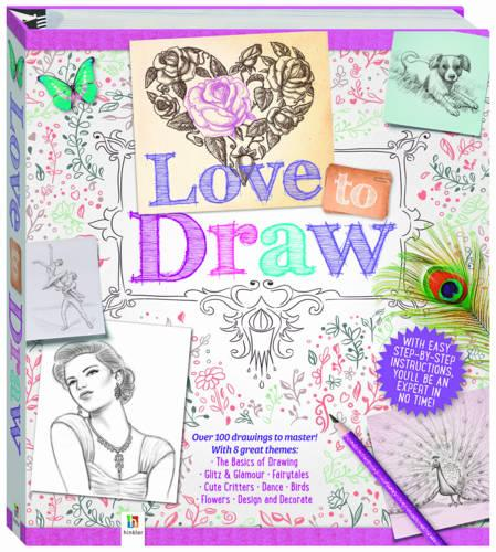 Love to Draw Binder (Hardback)