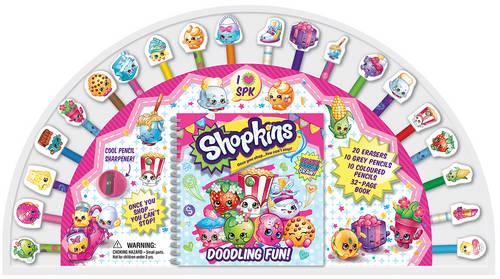 Shopkins 20 Pencil and Eraser Set Fan (Book)