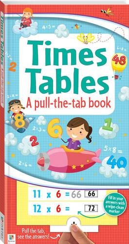 Times Tables: a pull-the-tab book (Hardback)