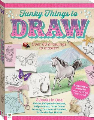 Funky Things to Draw: Flexi-bound (Paperback)