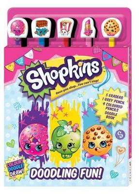Shopkins 5-Pencil Set (Book)