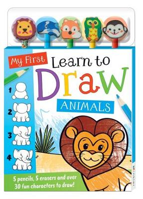 My First Learn to Draw 5-Pencil Set (Book)