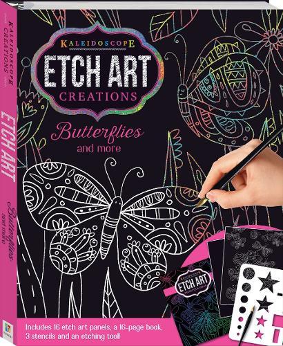 Kaleidoscope Etch Art Creations: Butterflies and More - Kaleidoscope (Book)
