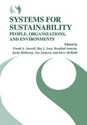 Systems for Sustainability: People, Organizations, and Environments (Paperback)