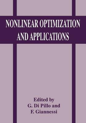 Nonlinear Optimization and Applications (Paperback)