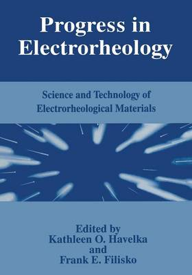 Progress in Electrorheology: Science and Technology of Electrorheological Materials (Paperback)